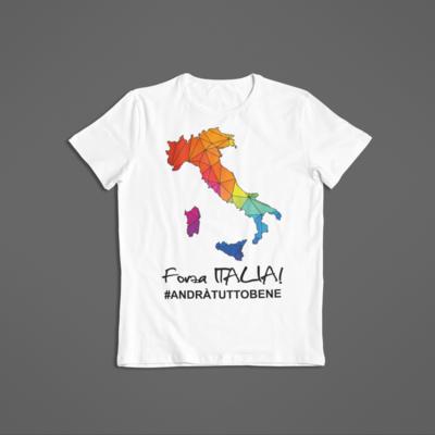 Tshirt Unisex Forza Italia ver.2