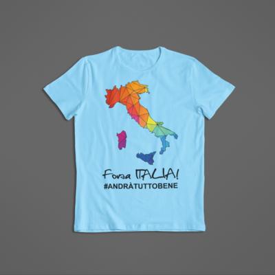 Tshirt Bambino Forza Italia ver.2