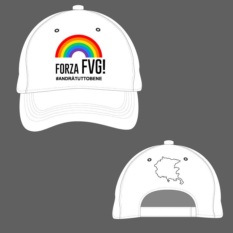 Cappellino Ricamato Forza FVG