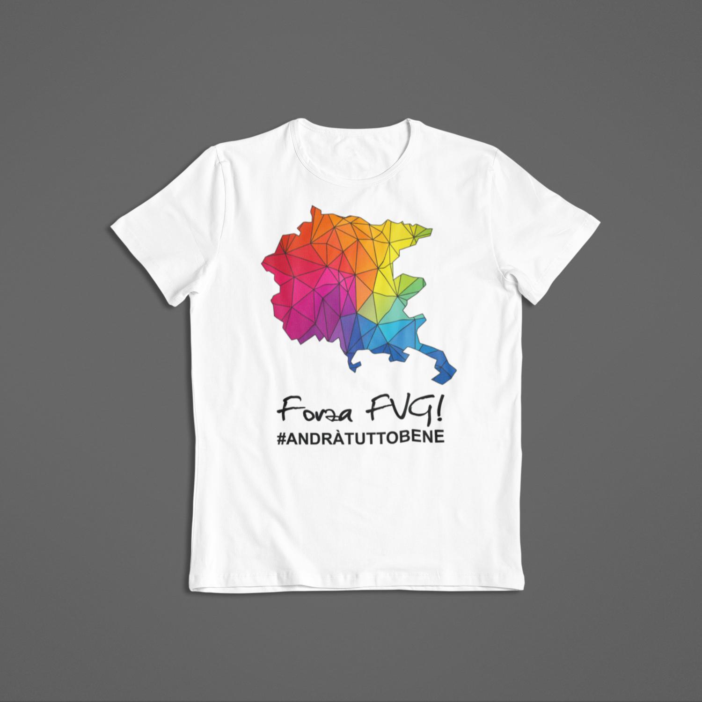 Tshirt Bambino Forza FVG ver.1