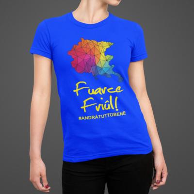 Tshirt Donna Fuarce Friul ver.1