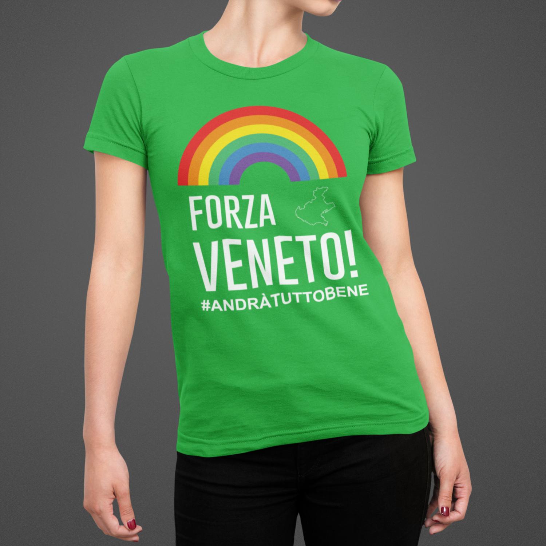 Tshirt Donna Forza Veneto ver.3