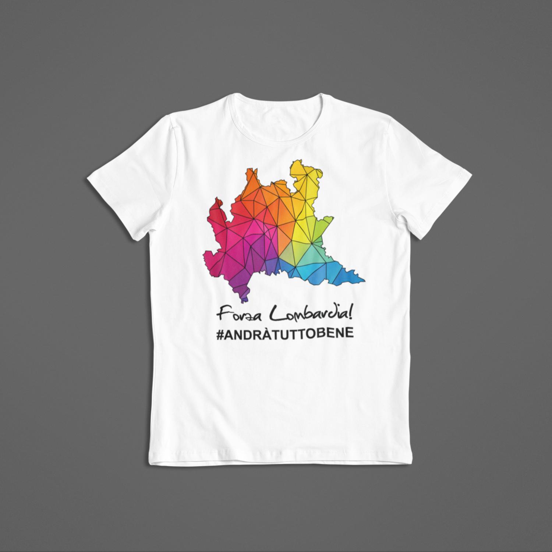 Tshirt Bambino Forza Lombardia ver.1