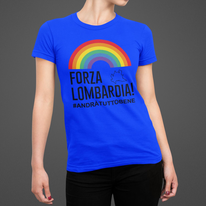 Tshirt Donna Forza LOMBARDIA ver.3