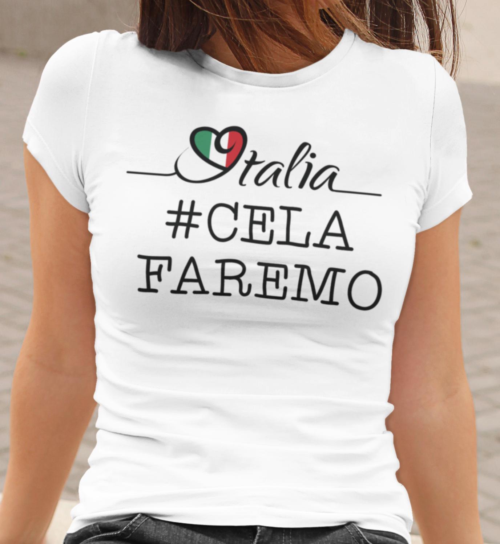 Tshirt Donna CE LA FAREMO