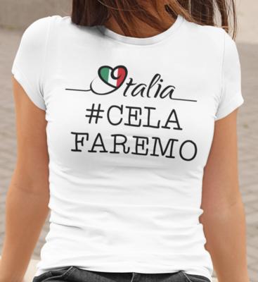 Tshirt Donna CE LA FAREMO CAMPIONI