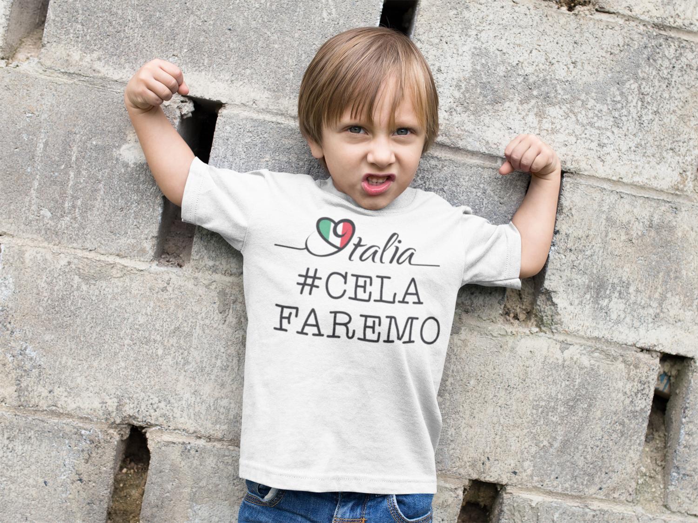 Tshirt Bambino CE LA FAREMO CAMPIONI