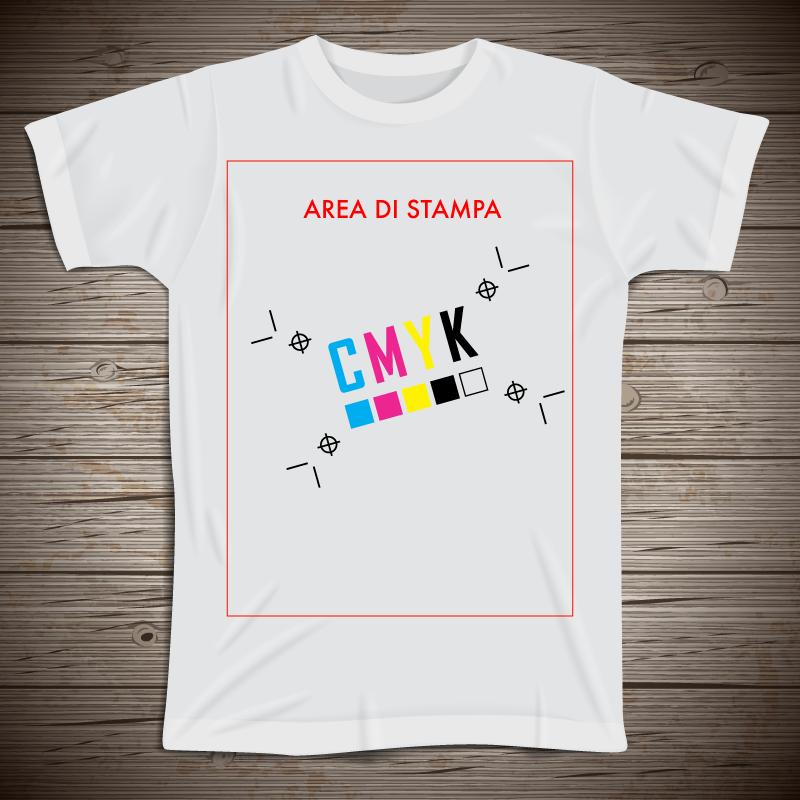 Tshirt Unisex stampata con la tua grafica