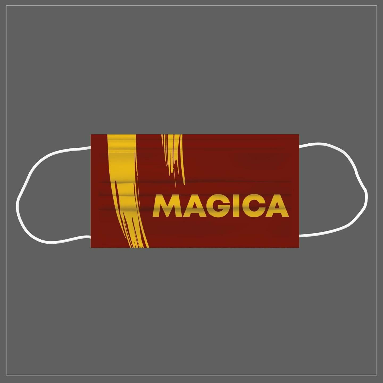 Mascherina Riutilizzabile Lavabile Calcio MAGICA ROMA