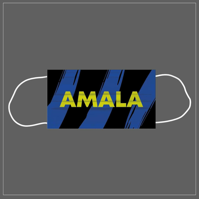 Mascherina Riutilizzabile Lavabile Calcio AMALA INTER