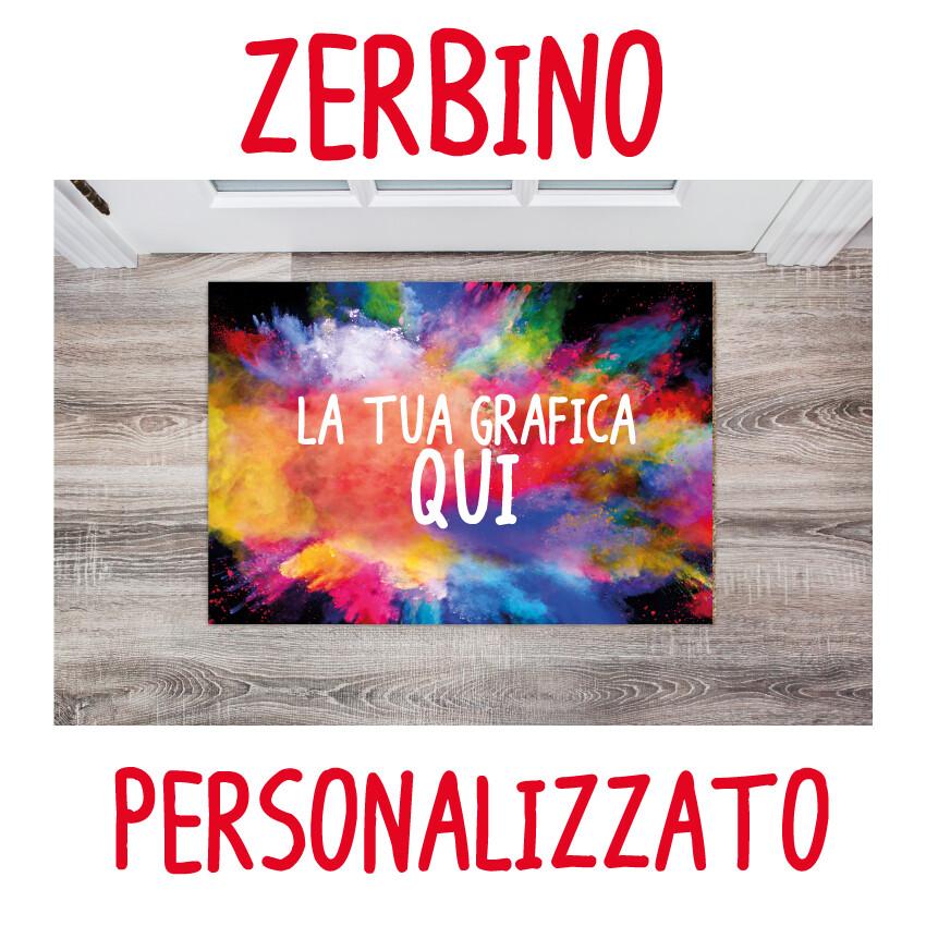 Zerbino personalizzato all over print in Hd