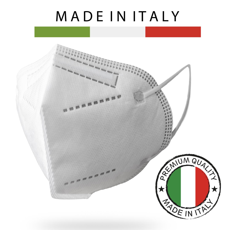 100 PZ FFP2 MADE IN ITALY V.3