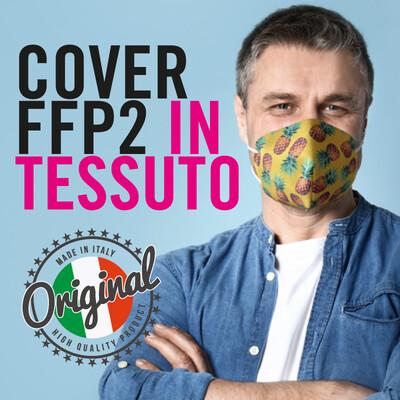 """COPRI """"COVER"""" FFP2 PERSONALIZZATA"""