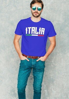 T-SHIRT UNISEX ITALIA CAMPIONI EURO2020 ver.3