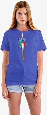 T-SHIRT DONNA ITALIA CAMPIONI EURO2020 ver.1