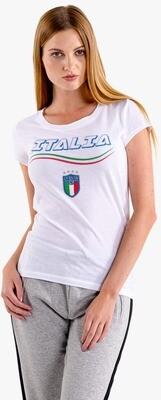 T-SHIRT DONNA ITALIA CAMPIONI EURO2020 ver.4