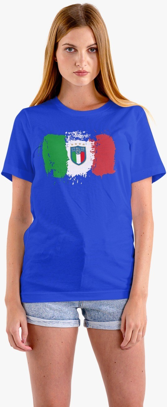 T-SHIRT DONNA ITALIA CAMPIONI EURO2020 ver.2