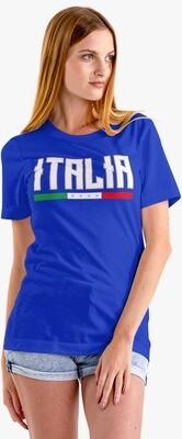 T-SHIRT DONNA ITALIA CAMPIONI EURO2020 ver.3