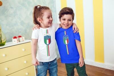 T-SHIRT BAMBINO ITALIA CAMPIONI EURO2020 ver.1