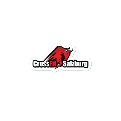 CrossFit Salzburg Bubble-free stickers