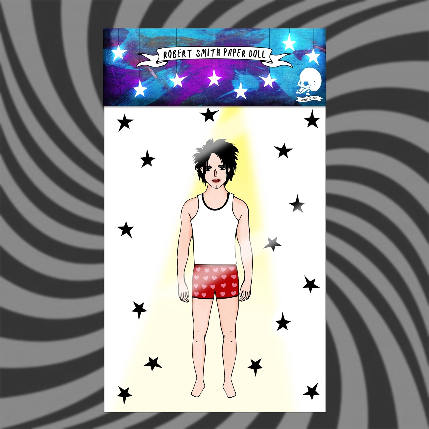 Robert Smith - The Cure Paper Doll