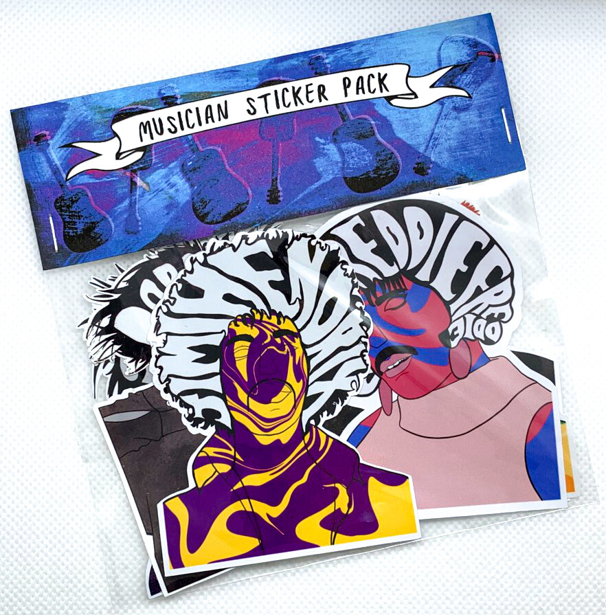 Musician Sticker Pack!