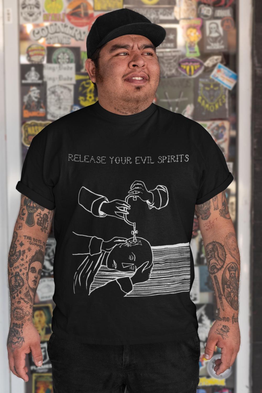 Trepanning - Historical Medicine Alchemy / Short-Sleeve Unisex T-Shirt