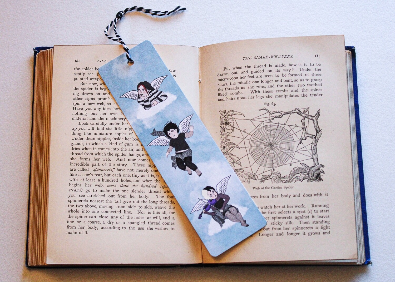 Goth Cherub Bookmark