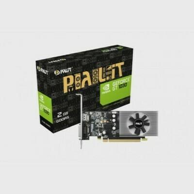 ВИДЕОКАРТА NVIDIA GEFORCE GT1030 PALIT PCI-E 2048Mb (NE5103000646-1080F)