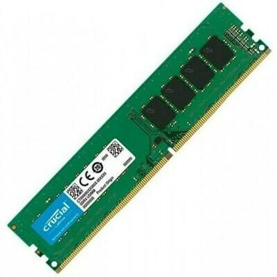 ПАМЯТЬ CRUCIAL CT8G4DFS8266 SINGLE RANK DDR4 8GB (PC-21300) 2666MHZ