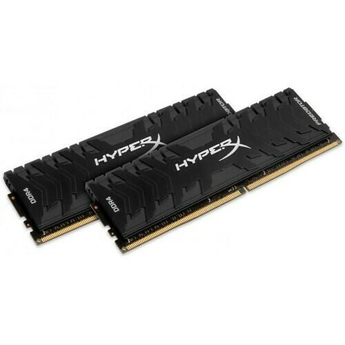 Оперативная память HyperX DDR4-3333 16384MB PC4-26664 (Kit of 2x8192) Predator Black (HX433C16PB3K2/16)