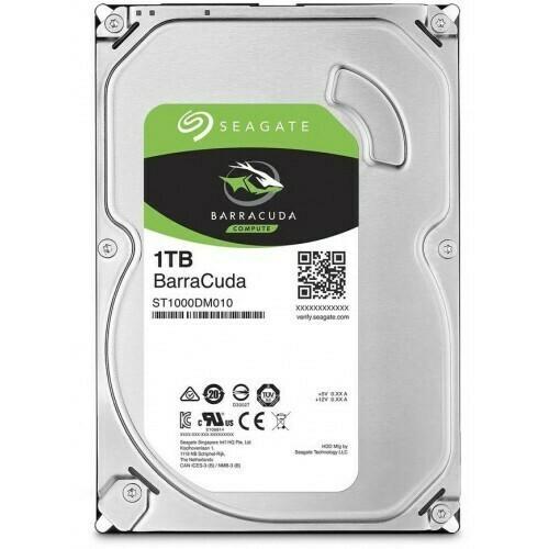 """Жесткий диск SEAGATE SATA-III 1TB ST1000DM010 BARRACUDA (7200RPM) 64MB 3.5"""""""