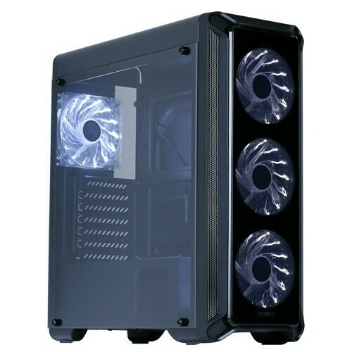 Корпус ATX ZALMAN I3 Edge, Midi-Tower, без БП, Black