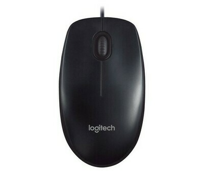 МЫШЬ LOGITECH MOUSE M90 DARK GREY USB