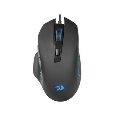 Мышь Redragon Gainer USB Black