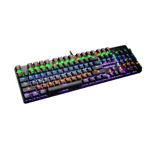 Клавиатура МЕХАНИЧЕСКАЯ игровая Jet.A Panteon T5 КРАСНЫЕ СВИЧИ