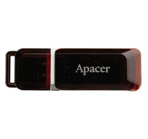 ФЛЕШ ДИСК APACER 32GB AH321 AP32GAH321R-1 USB2.0 КРАСНЫЙ
