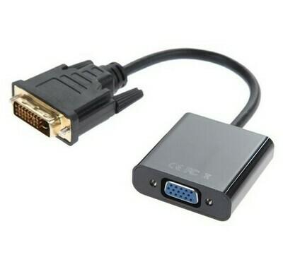 Активный конвертор(переходник)DVI-D to VGA
