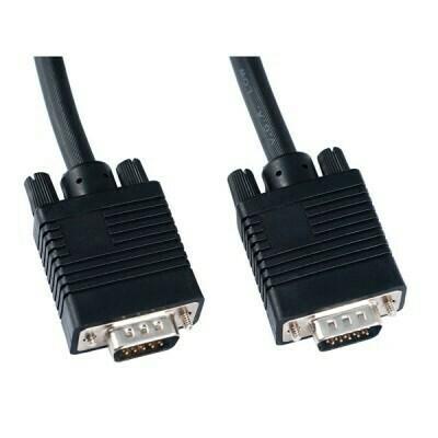 Кабель VS VGA/SVGA вилка - VGA/SVGA вилка, с ф/фильтрами, длина 3 м.