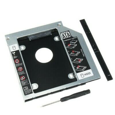 Карман для HDD SATA 9.5mm второй диск вместо привода