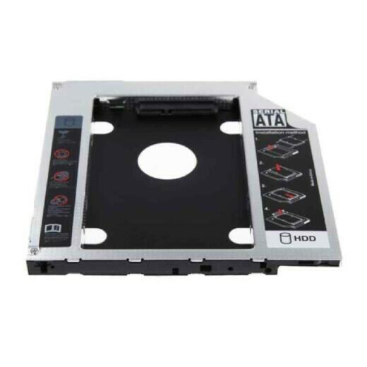 Карман для HDD SATA 12.7mm второй диск вместо привода