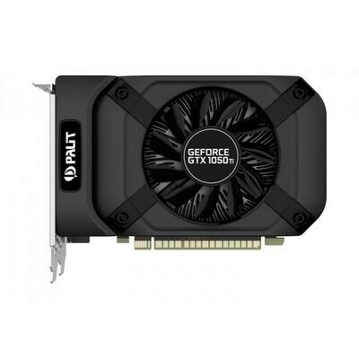 Видеокарта nVidia PCI-E 4Gb GeForce GTX 1050Ti 128bit Palit StormX