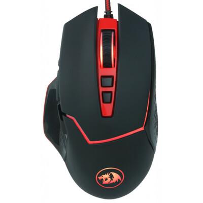 Мышь проводная игровая Inspirit 2, RGB-подсветка, 8 кнопок, программируемая, встроенная память, 12400dpi Redragon