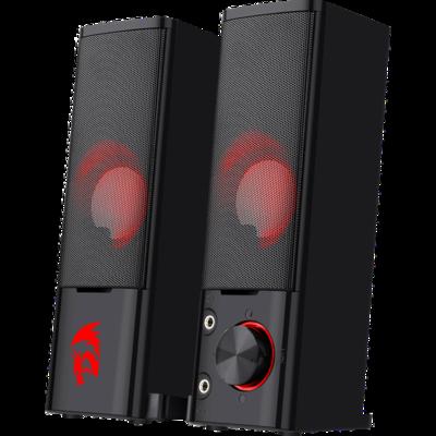 Акустическая 2.0 система Orpheus черный, Саундбар трансформер, 6 Вт, подсветка, питание от USB Redragon