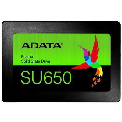 """Твердотельный накопитель ADATA 120GB SSD SU650 TLC 2.5"""""""