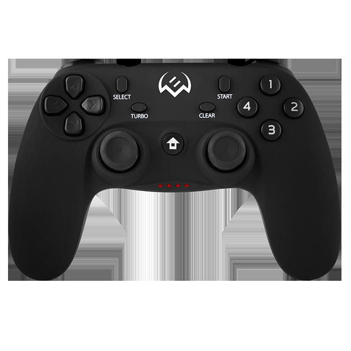 Геймпад беспроводной Sven GC-3050, PC/Xinput/PS3/(Android не все),, 13 кл. 2 мини-джойстика, D-pad, Soft Touch