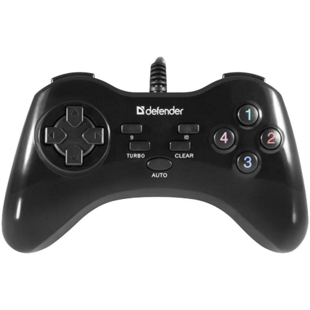 Геймпад проводной GAME MASTER G2 USB, 13 кнопок DEFENDER