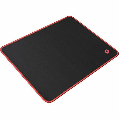 Коврик игровой Black M 360x270x3 мм, ткань+резина DEFENDER