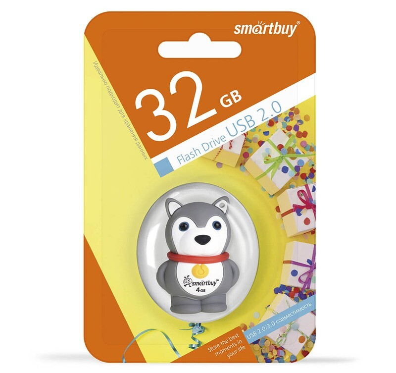 Флеш-драйв Smart Buy USB 32GB Wild series Собачка
