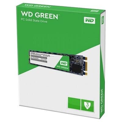 Твердотельный накопитель Western Digital Green SSD 120GB M.2 2280 SATAIII 3D NAND (TLC)
